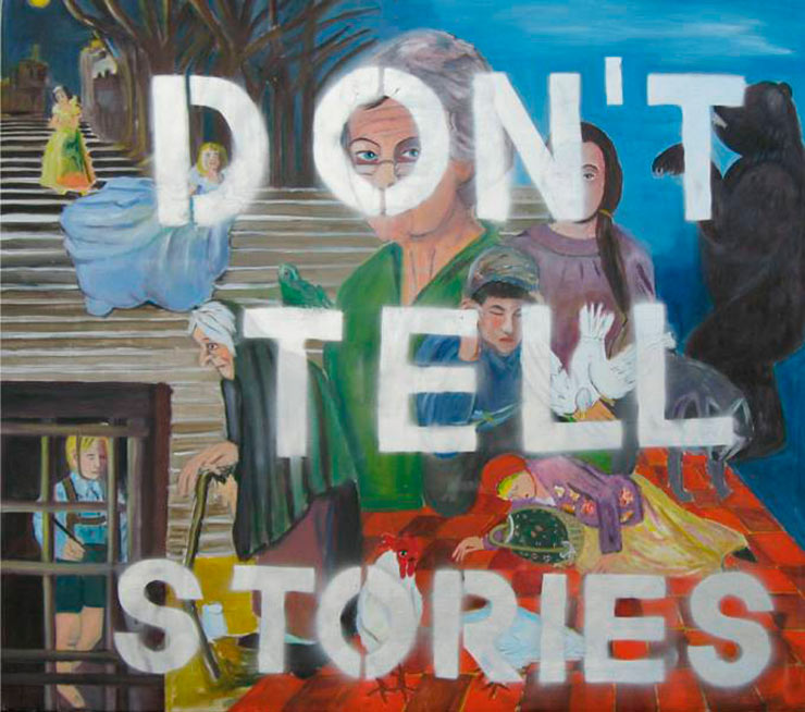 Don´t tell stories
